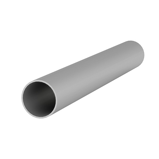 ALUMINUM ROUND TUBE D.25x1mm ANODISED